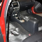 This is applied all over the vehicles interior
