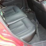 With this vehicle the leather interior needed to be conditioned with Lexol leather conditioner.